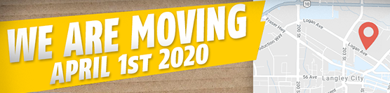 We are moving from Surrey to Langley on April 1st 2020